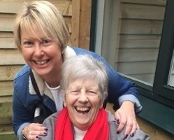 Julie with her mum (cropped)